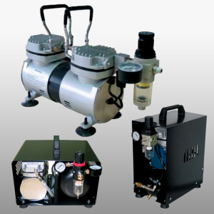 Small Oil-Less Compressors